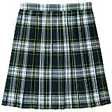 [キューポップ] 丈が選べるチェック柄プリーツスカート(スクール・制服) TN-92 ガールズ ネイビーB 日本 61-42 (日本サイズS相当)