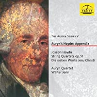 Die Sieben Worte Jesu Christi by Auryn Quartett