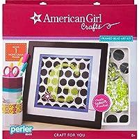 American Girl Crafts 30-726468 Framed Perler Art Kit [並行輸入品]