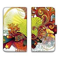 WHITENUTS Galaxy S10 SCV41 ケース 手帳型 UVプリント手帳 パターンA (wn-582) スマホケース ギャラクシー エステン 手帳 カバー スマホカバー WN-PR1172261_L