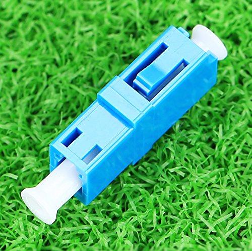 光ファイバフランジコネクタのプラスチックLC/ Sxシンプレックスシングルモード10個入り