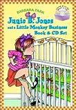 Junie B. Jones and a Little Monkey Business Book & CD Set (A Stepping Stone Book(TM))
