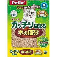 ペティオ ガッチリ固まる木の猫砂 7L