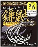 がまかつ(Gamakatsu) シングルフック ジギングフック 鎌鼬 2/0号 8本 シルバー 68267