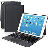 [iPad 10.2/10.5通用]Ewin® 新型 iPad キーボード ケース タッチパッド付き 一体式Bluetoothキーボード 超薄型 ipad 第7世代 ipad 第8世代 10.2 ipad pro 10.5 ipad air3 10.