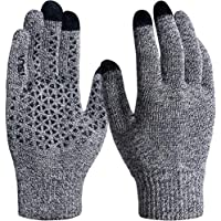 TESLA Smart Touch-Screen Winter Anti Slip Smart Phone Compatible Magic Gloves (Pack of 2)