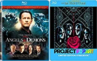Tom Hanks The Da Vinci Code Steelbook [Blu-ray]& Angels and Demons (2-Disc Theatrical & Extended Edition) Double