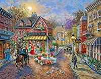 Cobblestone Village 500 Piece Jigsaw Puzzle [並行輸入品]