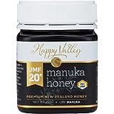 Happy Valley Certified UMF 20+ (MGO 850+) Genuine New Zealand Manuka Honey, 250g