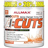 AllMax Amino Cuts - Amino Charged Energy Drink - Arctic Orange - (36 serve) 252g