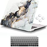 iCasso MacBook Air 13 Inch Case 2020 2019 2018 Release A1932/A2179 with Retina Display Touch ID, Durable Hard Plastic Shell C