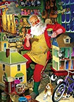 Santa's Workshop, A 1000 Piece Jigsaw Puzzle by Cobble Hill by Cobble Hill