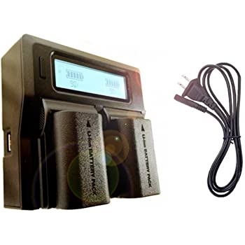 AD-DA™ [ CANON LP-E6・LP-E6n対応 ] LCD付き 高性能急速充電器/デュアル・バッテリー・ステーション/日本語DLマニュアル/国内代理店180日保証
