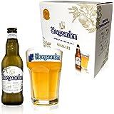 【Amazon.co.jp限定】 【オリジナルグラス付きセット】ヒューガルデン ホワイト瓶 [ ベルギー 330ml×4…