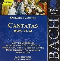 Bach Cantatas Kantaten BWV 71-74 (1999-10-19)