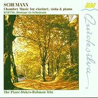 Schumann;Chamber Music
