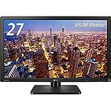 LG ディスプレイ モニター 27インチ 4K/3840×2160/AH-IPS非光沢/HDMI2.0準拠/ピボット対応 27MU67-B