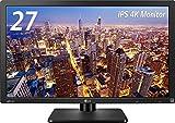 LG 27MU67-B IPSディスプレイ モニター 27インチ 4K/3840×2160/AH-IPS非光沢/HDMI2.0準拠/ピボット対応