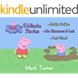 Peppa Pig 5 Minute Stories: Great 5-Minutes Stories Of Peppa Pig For Kids 2-4 Ages - Include 3 Stories - Muddy Puddles, Mr Di