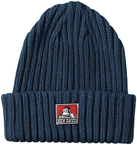 [ベンデイビス] ニット帽 ベンデイビス定番のコットンニットキャップ ヘザーネイビー One Size