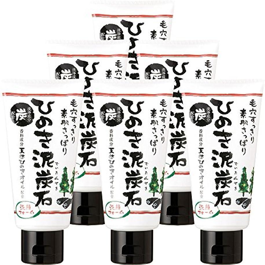 ビタミン改修オークションひのき泥炭石 洗顔フォーム (120g×6本) [保湿?洗浄成分配合]