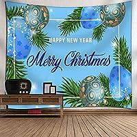 GLYY クリスマス タペストリー 150*200 CM 壁掛けタペストリー 壁面装飾|飾りウォールデコレーション インテリア装飾 贈り物|ギフトプレゼントインテリア A10
