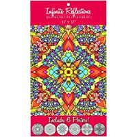 Just For Laughs Colouring Posters for Grown Ups 2-Pack (12 Posters) - Natural Worlds, Infinite Reflections