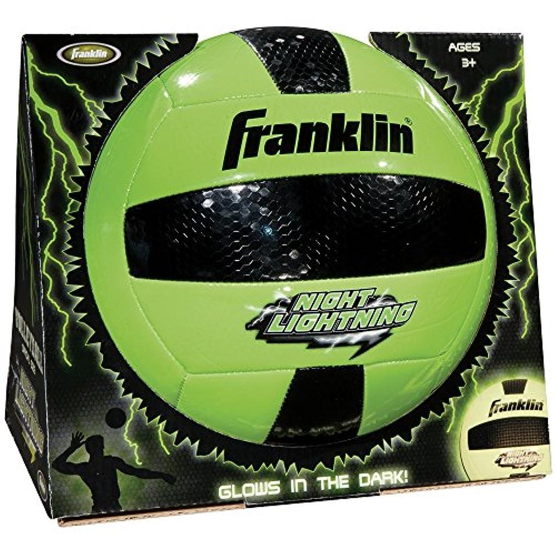 ほんの安らぎどっちでもFranklin Sports Night Lightning Volleyball (Official Size)