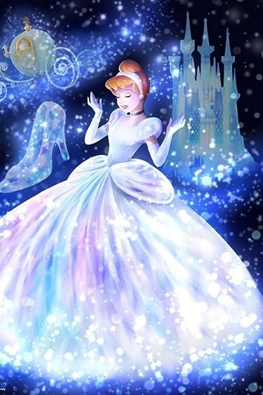 ディズニー  iPhone/Androidスマホ壁紙(640×960)-3 - 魔法の光に包まれて(シンデレラ)