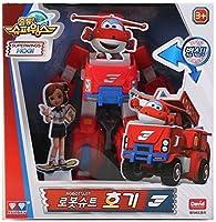 Super Wings シーズン2 変身ロボットスーツ + ミニ変身ロボット Hogi (Jett) [海外直送品] [並行輸入品]