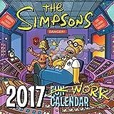 シンプソンズ 2017年 ミニ カレンダー 壁掛け TheSIMPSON バート ホーマー グッズ かわいい 可愛い 女の子 キャラクター お洒落 インテリア プレゼント ギフト