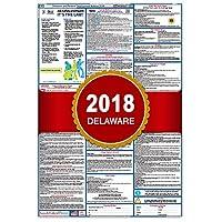 """2018デラウェア州および連邦労働法ポスター–ラミネート27"""" x 40"""""""