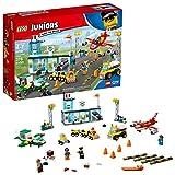 LEGO Juniors City Central Airport 10764 Building Kit (376 Piece), Multicolor