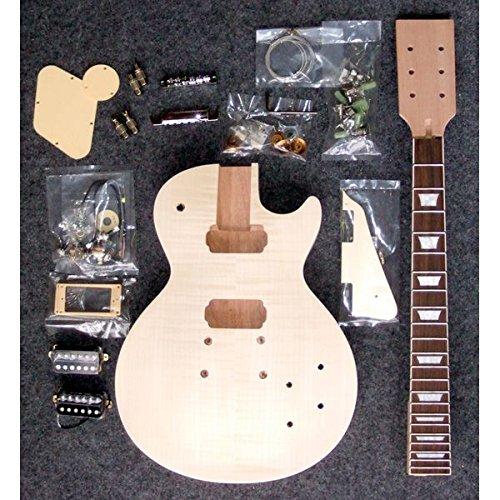 HOSCO ER-KIT-LP-D/I エレキギター/レスポールタイプ デラックス版 組み立てキット ★難易度:高