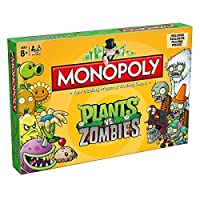 (Plants Vs Zombies) - Plants vs Zombies Monopoly Board Game