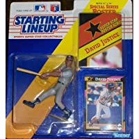 David Justice 1992 Starting Lineup おもちゃ [並行輸入品]