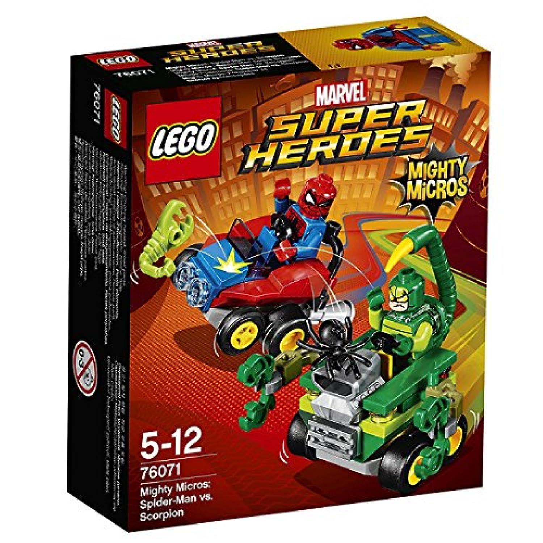 レゴ(LEGO)スーパー?ヒーローズ マイティマイクロ:スパイダーマン vs スコーピオン 76071