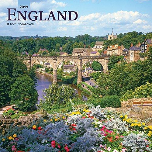 England 2019 Calendar
