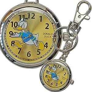 [ディズニー]Disney 懐中時計 キーチェーン ドナルドダック MKN007-3 【並行輸入品】