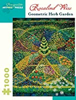 [Pomegranate]Pomegranate Geometric Herb Garden 1000 Piece Jigsaw Puzzle by Rosalind Wise AA924 [並行輸入品]
