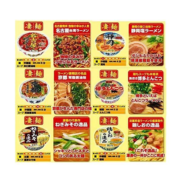 ヤマダイ 凄麺 人気12種類 食べくらべセット...の紹介画像5