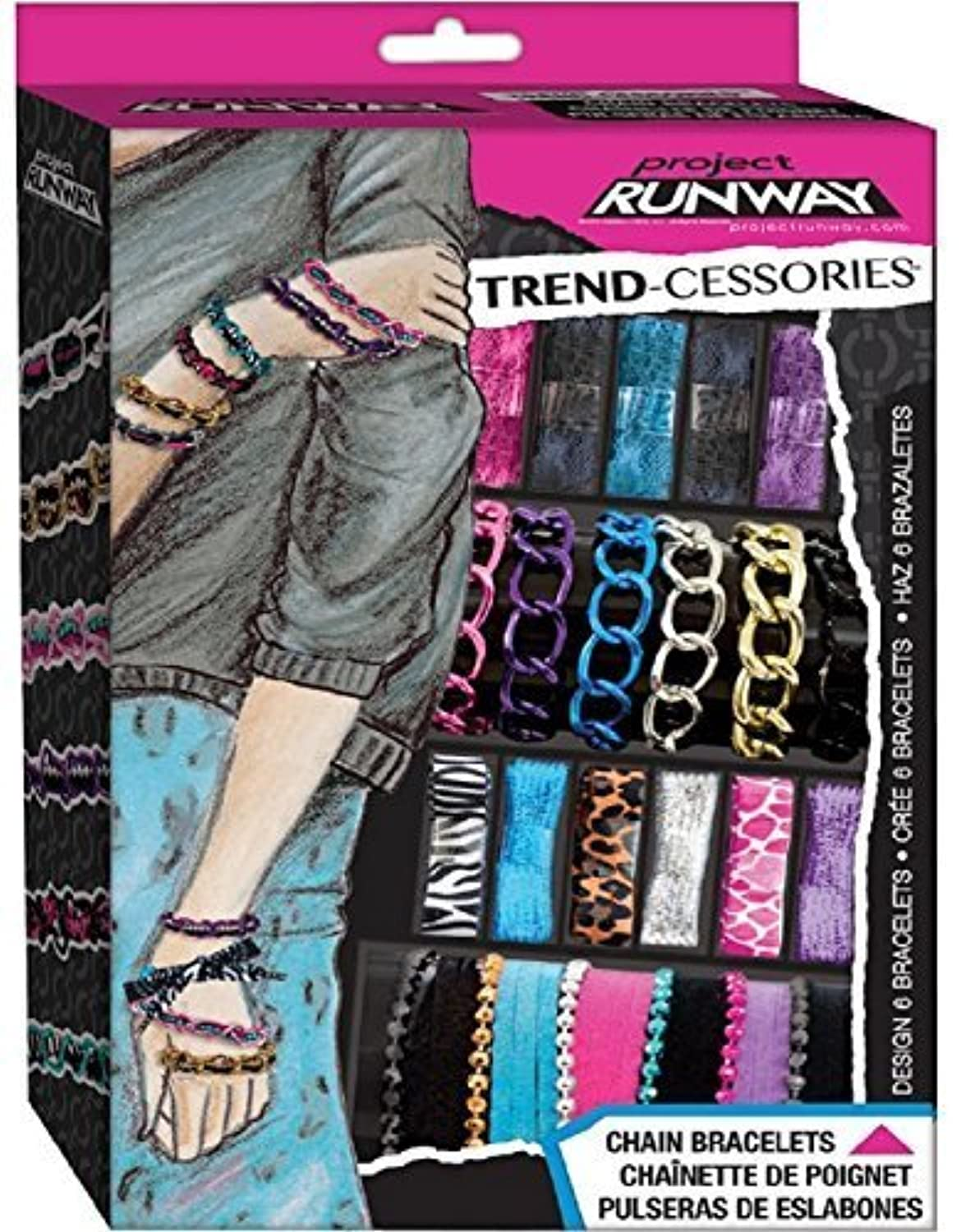 Project Runway Chain Mash Up Bracelet Kit by Fashion Angels [並行輸入品]