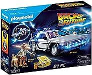 【予約商品】 BACK TO THE FUTURE バックトゥザフューチャー (公開35周年記念) - DeLorean Time Machine/フィギュア・人形 【公式/オフィシャル】