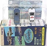 【3B】 トミーテック 1/150 ザ・カーコレクション Vol.10 新旧高級セダン編 日産 ティアナ 青/パトカー 2種セット 単品