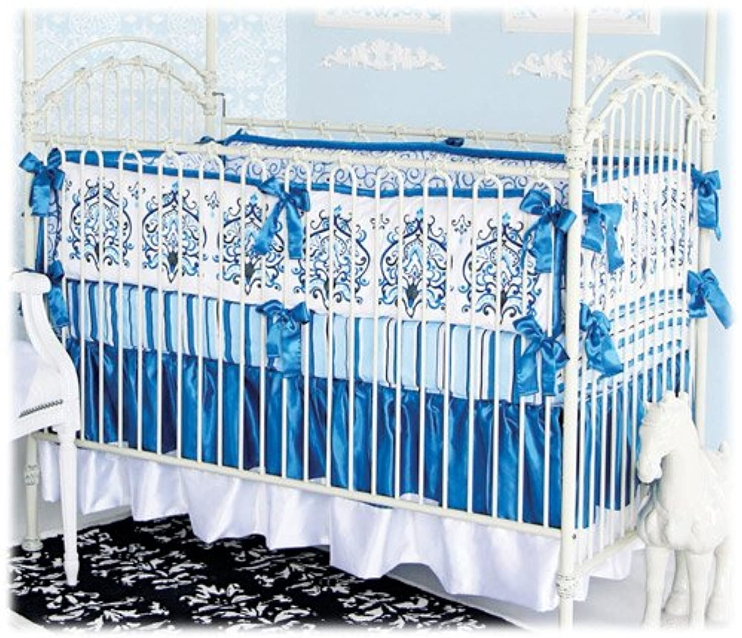 Caden Lane Luxe Collection Preston Crib Bedding Set by Caden Lane