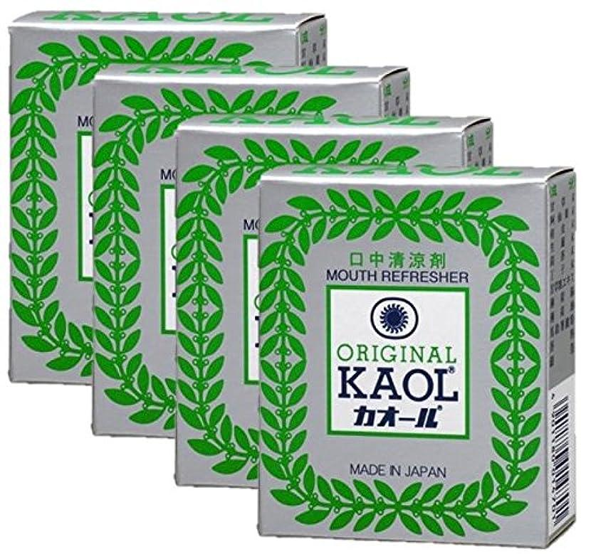 個人簡単にキウイ口中清涼剤 オリヂナル カオール 14.5g×4個セット