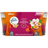 Glade 2in1 Jar Candle Air Freshener, Hawaiian Breeze and Vanilla Passion Fruit, 2 count, 6.8 Ounce