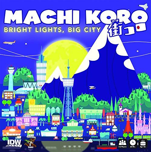 街コロ (Machi Koro: Bright Lights, Big City) ボードゲーム