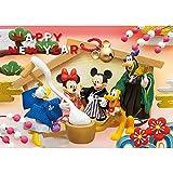 ダイゴー ディズニー 3Dポストカードお正月に大集合 S3636
