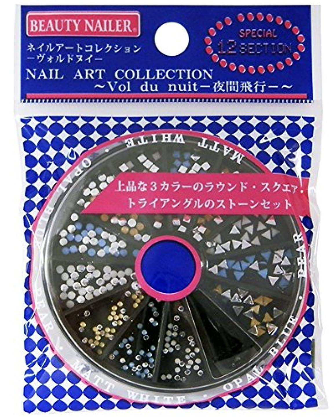 惨めなライトニング作業ビューティーネイラー ネイル用ストーン ネイルアートコレクション ヴォルドヌイ NAA-46